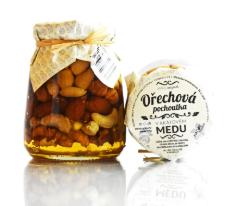 Ořechová pochoutka v medu